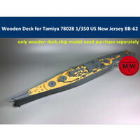 Wooden Deck for Tamiya 78028 1/350 Scale US Battleship New Jersey BB-62