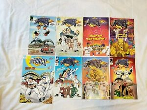 Milwaukee Brewers B-Force - Dark Horse - Comic Books - Lot Of 8 Complete Series