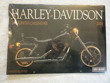 "2004 New Sealed Harley Davidson Motorcycles Calendar (12""X 17"")"