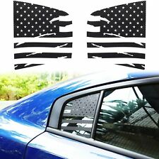 2X Side Rear Window Decor Stickers Trim Decals for Dodge Charger 15+ Accessories