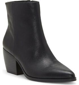 ENZO ANGIOLINI Mabbin Black Pointy Toe Bootie women's 8.5 M