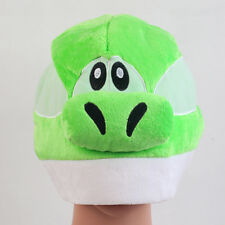 Super Mario Bros Green Yoshi Soft Plush Cap Figure Cosplay Hat Great Gift