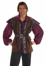 MEN'S MEDIEVAL MERCENARY ADULT HALLOWEEN COSTUME STANDARD ONE SIZE