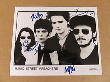 MANIC STREET PREACHERS AUTOGRAPHED UK ORIGINAL 10 x 8 PHOTOGRAPH RICHEY EDWARDS