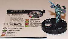 MONA LISA 021 Teenage Mutant Ninja 3 Turtles Shredder's Return HeroClix Rare