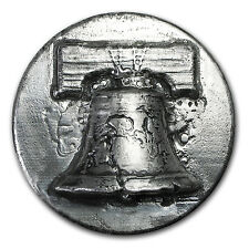 1 kilo Silver Round - Liberty Bell (Ultra High Relief) - SKU #104476
