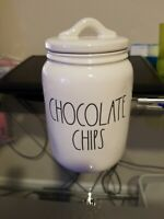 New Rae Dunn By Magenta CHOCOLATE CHIPS Kitchen Countertop Small Baby Canister