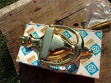 vtg Usa Baldwin solid Forged polished Brass Victorian Door Knocker 0102 Hardware