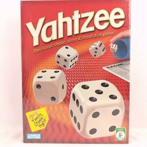 Parker Brothers 00950 Yahtzee - 2005 Edition - New & Sealed