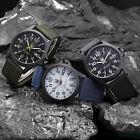Mens Military Sports Watch Date Stainless Steel Analog Army Quartz Wrist Watch*