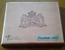 """Proofset Nederland 2007 met 2 Euro""""50 jaar verdrag van Rome"""""""