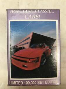 1991 Lime Rock Dream Machine Hot Fast Classic Cars Factory Set 1-110 Numbered