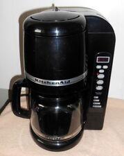 KitchenAid Pro12 KCM400OB1 Programmable 12 Cup Drip Coffeemaker - Black