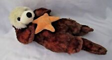 Otter Plush with Starfish Petting Zoo 11 inch 1994