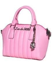 Lux de Ville Mini Lady Vamp Matte Pink Womens Handbag Tote Purse MLVT557PM