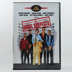 The Usual Suspects Crime Mystery DVD R1 Good Condition