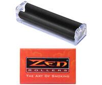 70 mm Cigarette Hand Roller Machine & 10 Zen Replacement Apron Sleeves - 1358