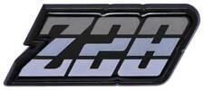 """1980-81 Camaro """"Z28"""" Silver Fuel Door Emblem"""