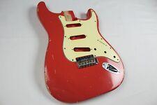 MJT Official Custom Vintage Age Nitro Guitar Body By Mark Jenny VTS Coral