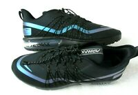 Nike Mens Air Max Sequent 4 Utility Running Shoes Black Blue Grey Size 10.5 NEW