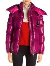 New with Tag Moncler Wilson Logo Lacquer Puffer Jacket Coat Size 1 Small $1630