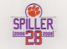 CLEMSON TIGERS SPILLER PATCH C. J. SPILLER