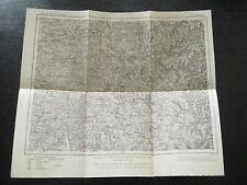 alte Landkarte Karte des Deutschen Reiches Nr.586 Pfalzburg von 1909