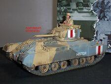 King and country EA78 8TH Tanque Militar Ejercito San Valentín MK2 + conductor soldado de juguete
