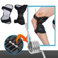 1 Paar Unterstützung Knieschützer Booster Lift Squat Sport Power Federkr eNwrg