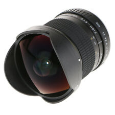 For Canon Fisheye Lens 8mm F3.5 Prime Fixed 167 Degree Wide Angle View