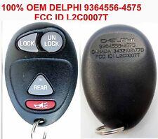 100% OEM keyless Rendevous BUICK REAR DOOR 4 BUTTON Remote 9364556-4575 L2C0007T