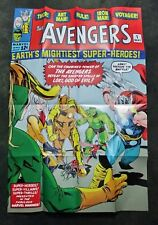 Avengers #1 No Surrender Double Sided Poster Marvel Legacy