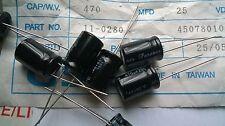 25pcs Forever RB 470uF 25V -40+85oC Radial Capacitors