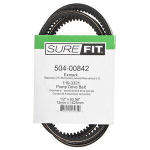 SureFit Pump Drive Belt for 119-3321 Exmark Quest Toro TimeCutter ZS5000 Mowers