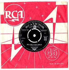 "JIM REEVES.WELCOME TO MY WORLD / MY JUANITA.UK ORIG 7"" & CO/SL.EX"
