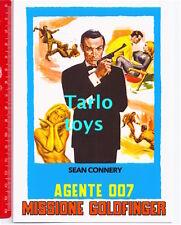 AGENTE 007 MISSIONE GOLDFINGER - James Bond - Sean Connery postcard - cartolina