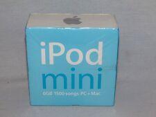 NEW APPLE iPOD CLASSIC MINI 6GB MP3 DIGITAL MUSIC PLAYER BLUE 6 GB M9804LL NIB!