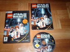 LEGO STAR WARS 2...la trilogie originale...jeu complet...sur PC