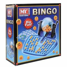Bingo Lotto Traditional Family Game 48 Cards 100 Covering Chips 90 Bingo Balls
