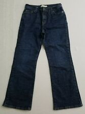Levi's 512 Perfectly Slimming Bootcut Jeans Women's 12 Short Back Flap Pocket J1