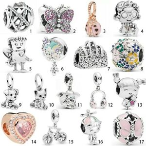 New 2019 European S925 Silver Charms Pendant Bead For Bracelet Bangle Chains