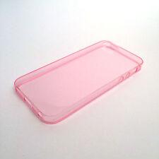 Fundas y carcasas transparentes Para iPhone 5 color principal rosa para teléfonos móviles y PDAs