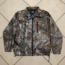 STUSSY REALTREE MICRO RIPSTOP JACKET CAMO SIZE SMALL NEW WITH TAGS