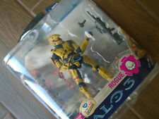 """FYE Suncoast exclusive Halo 3 Series 3 """"Gold Rogue"""" Action Figure, Xbox 360 NEW"""