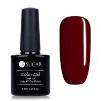7.5ml Soak Off UV Gellack Weinrot Nail Art Gel Polish Nagellack Varnish UR SUGAR