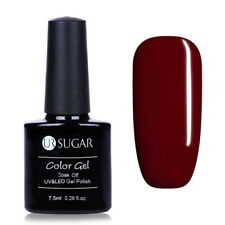 7.5ml Soak Off UV Gellack Weinrot Nail Art Gel Polish Nagellack Varnish UR SUGAR