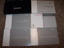 2013 Nissan Frontier Owner User Guide Operator Manual King Crew 2.5L 4.0L V6