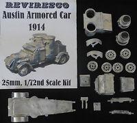 Austin - Englischer Panzerwagen 1914 - 1. Weltkrieg - 1:72 - Zinnbausatz - OVP