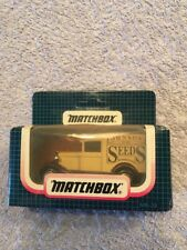 Matchbox MB38 Ford Model A Van - Johnsons Seeds - Boxed