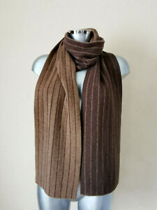 POLO RALPH LAUREN - Scarf - Wool - Brown - Authentic